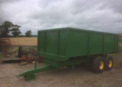 Painted Trailer