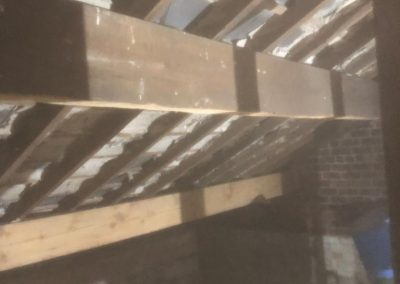 Loft timbers b4 and aft